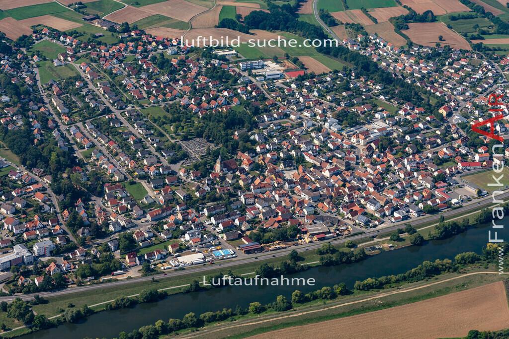 bischberg-19-297 | aktuelles Luftbild von  Bischberg - Luftaufnahme wurde 2019 von https://frankenair.de mittels Flugzeug (keine Drohne) erstellt.