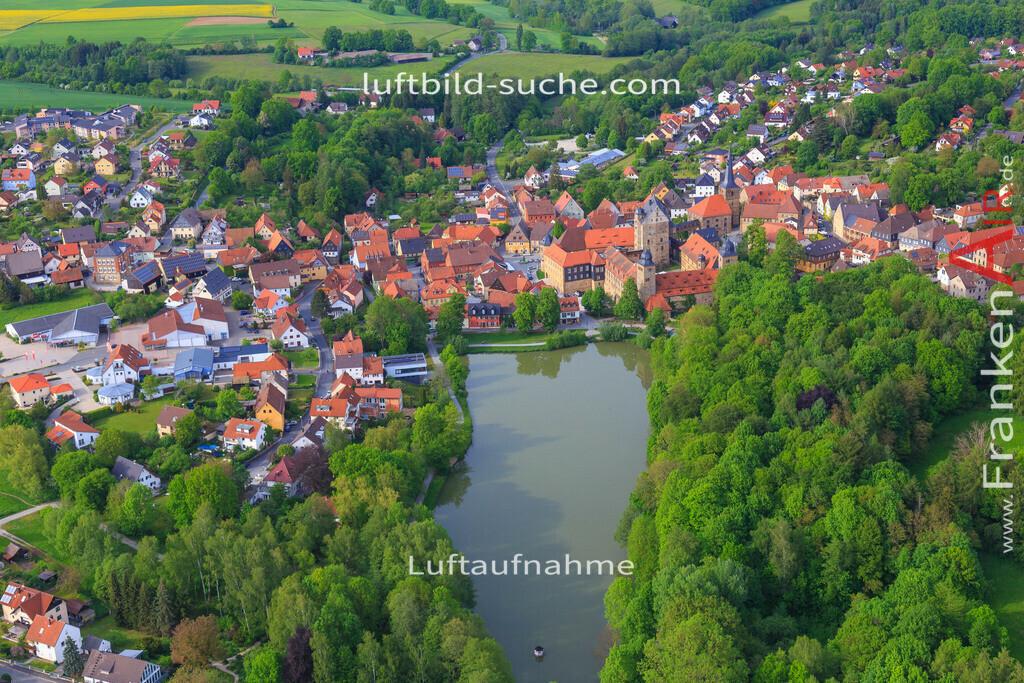 thurnau-2016-3360 | Luftbild von  Thurnau - Luftaufnahme wurde 2016 von https://frankenair.de mittels Flugzeug (keine Drohne) erstellt - die Geschenkidee