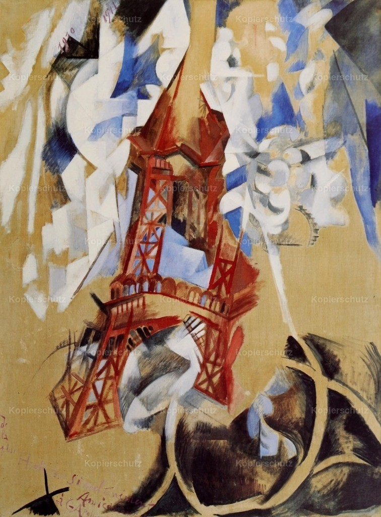Delaunay_ Robert (1885-1941) - Eiffel Tower 1910