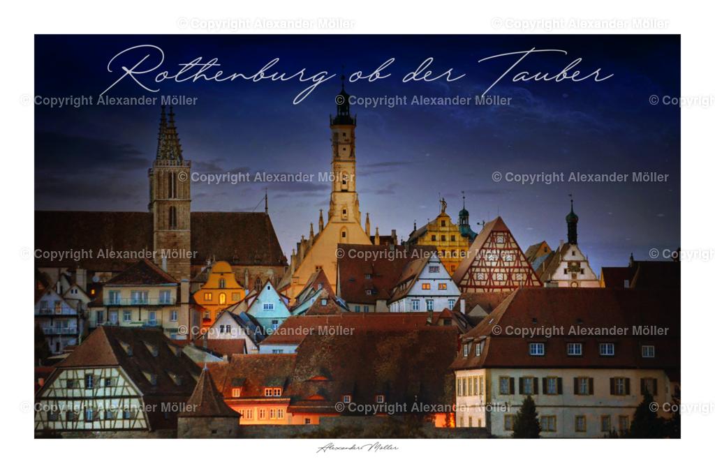 Rothenburg ob der Tauber No.110 (3-2) Titel