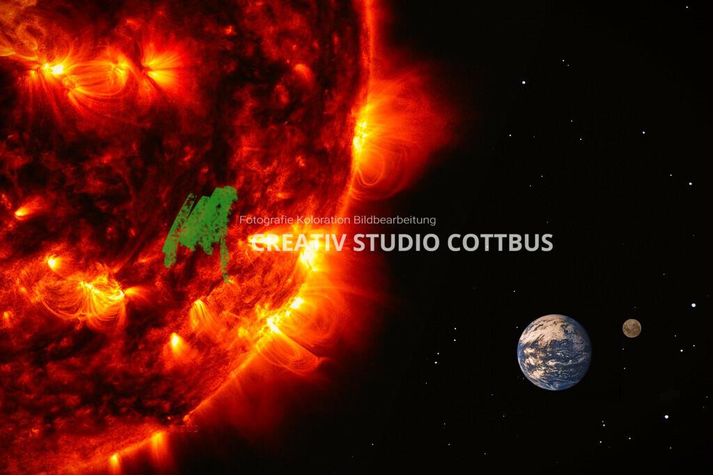 Sonne, Erde, Mond | Weltall
