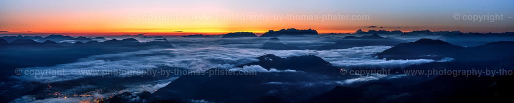 Sonnenaufgang über Wilder Kaiser und Zahmer Kaiser-2