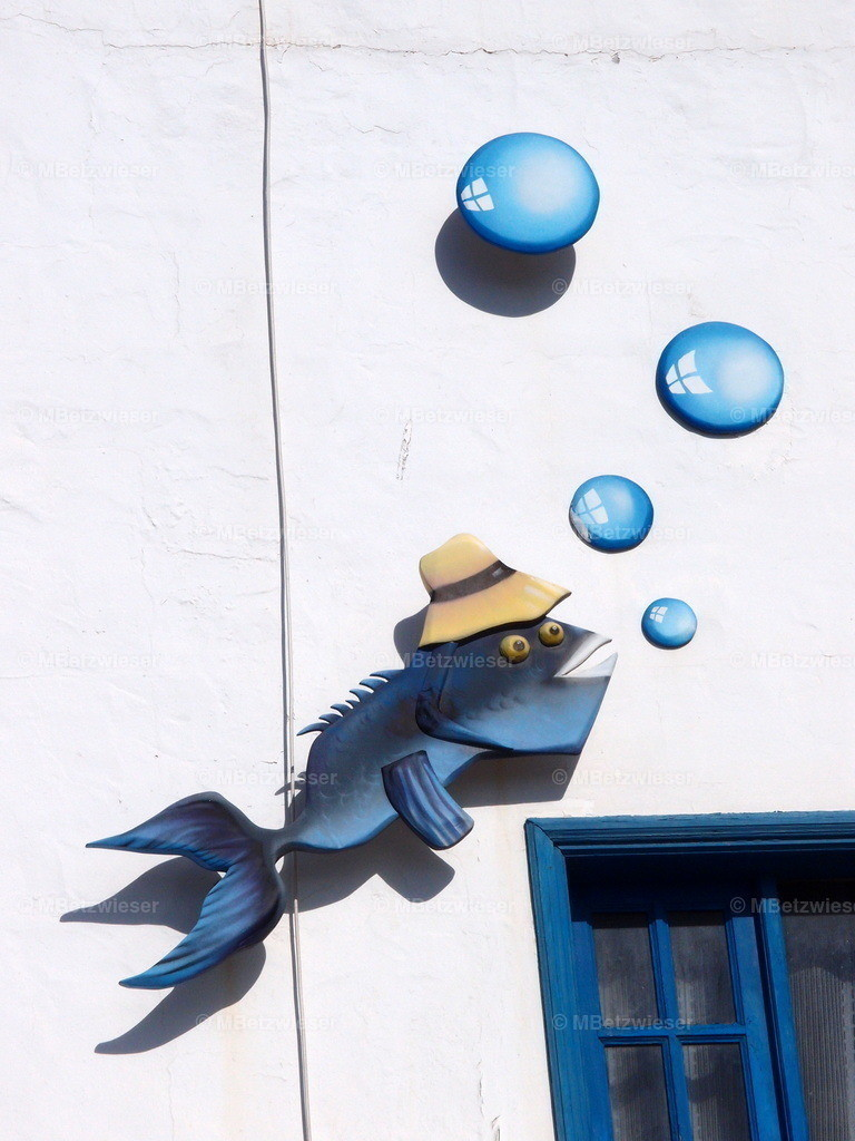 P5040460 | Hausfassade in Orzola auf Lanzarote