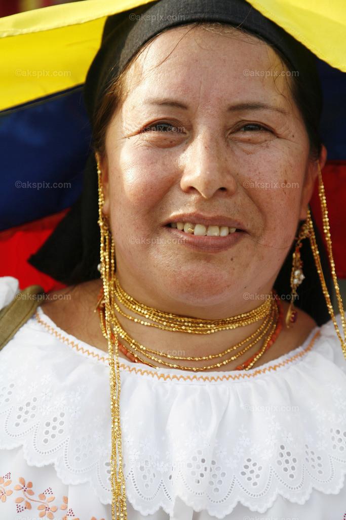 Ecuador - Frau