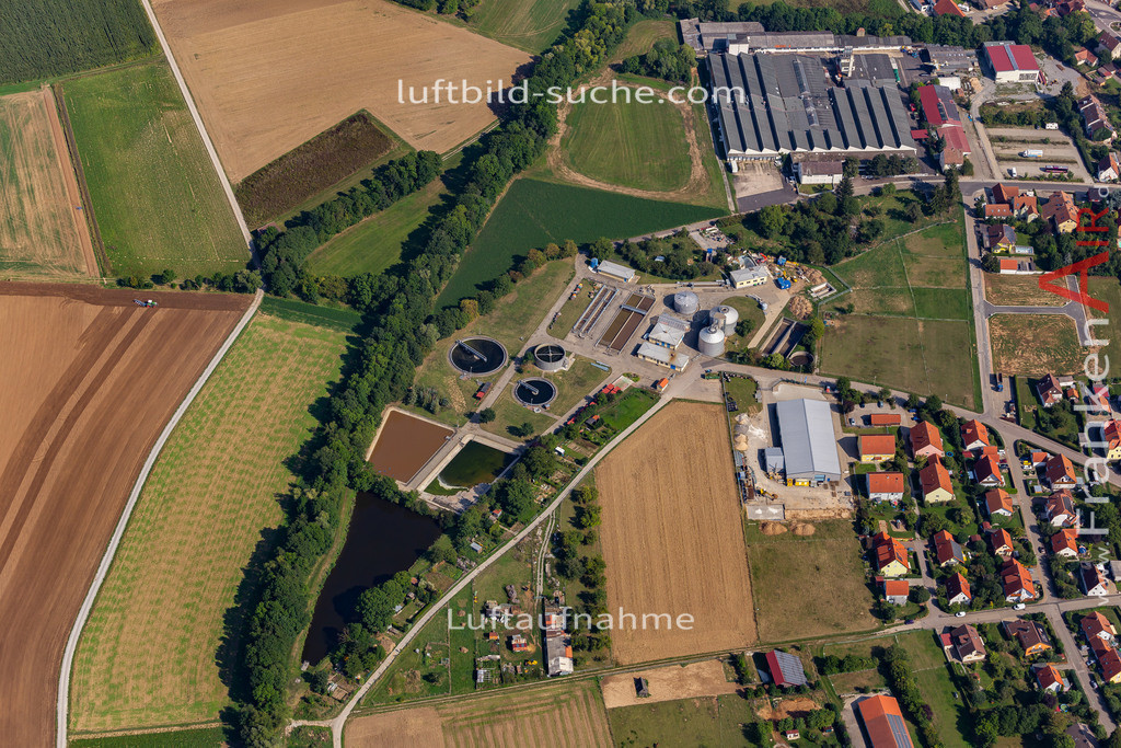 uffenheim-19-748 | aktuelles Luftbild von  Uffenheim - Luftaufnahme wurde 2019 von https://frankenair.de mittels Flugzeug (keine Drohne) erstellt.