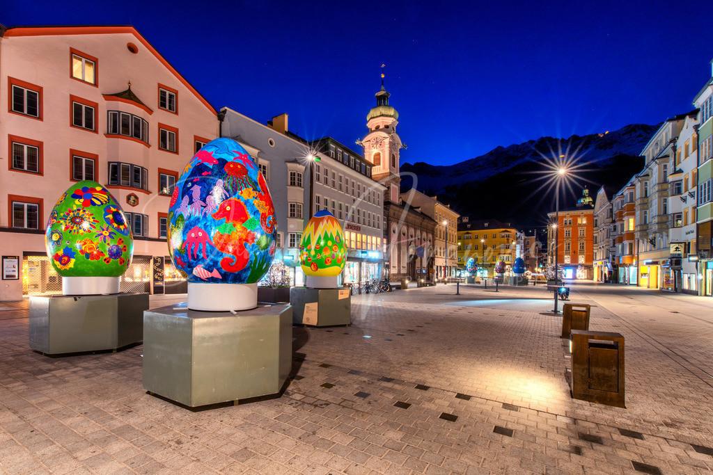 Ostern in Innsbruck | Dekorierte Maria-Theresien-Straße