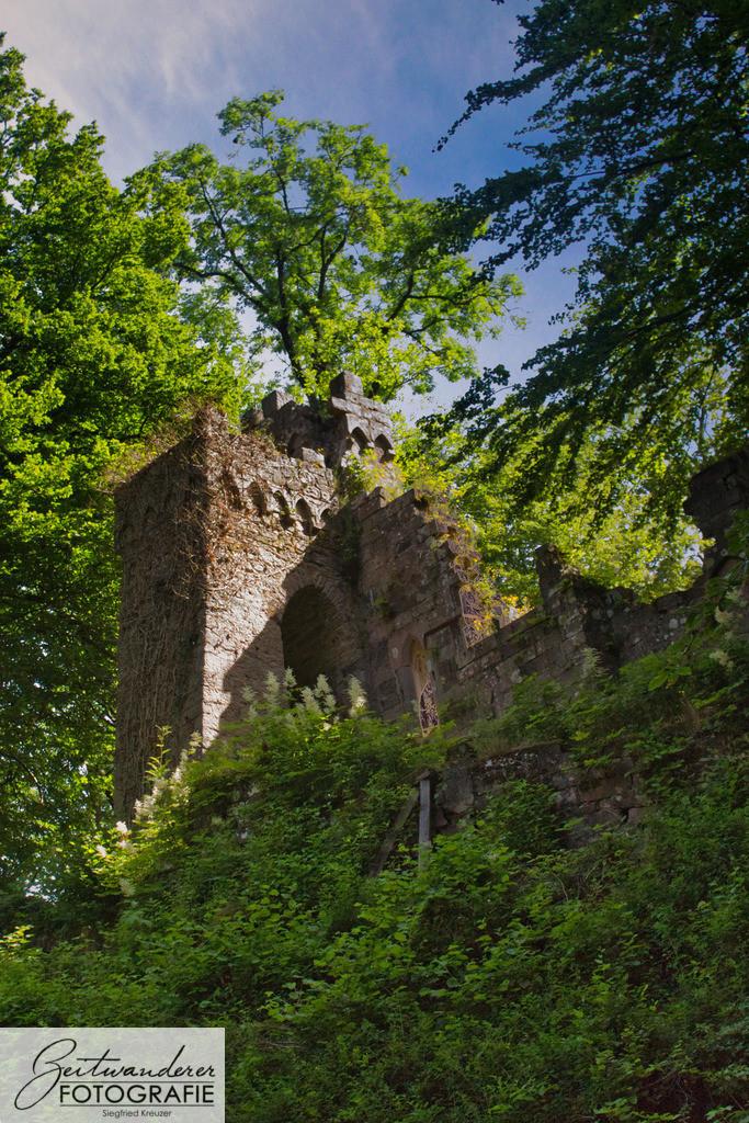 Burgturm Englischer Garten Erbach