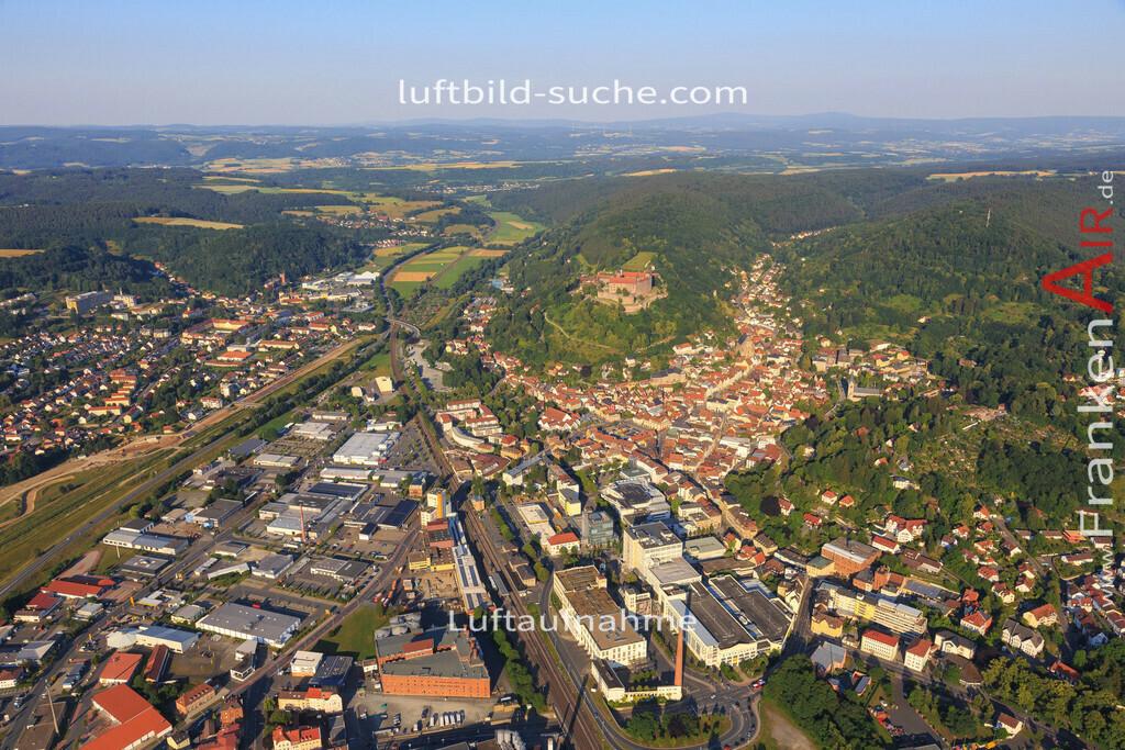 kulmbach-2015-1797   Luftbild von  Kulmbach - Luftaufnahme wurde 2015 von https://frankenair.de mittels Flugzeug (keine Drohne) erstellt - die Geschenkidee