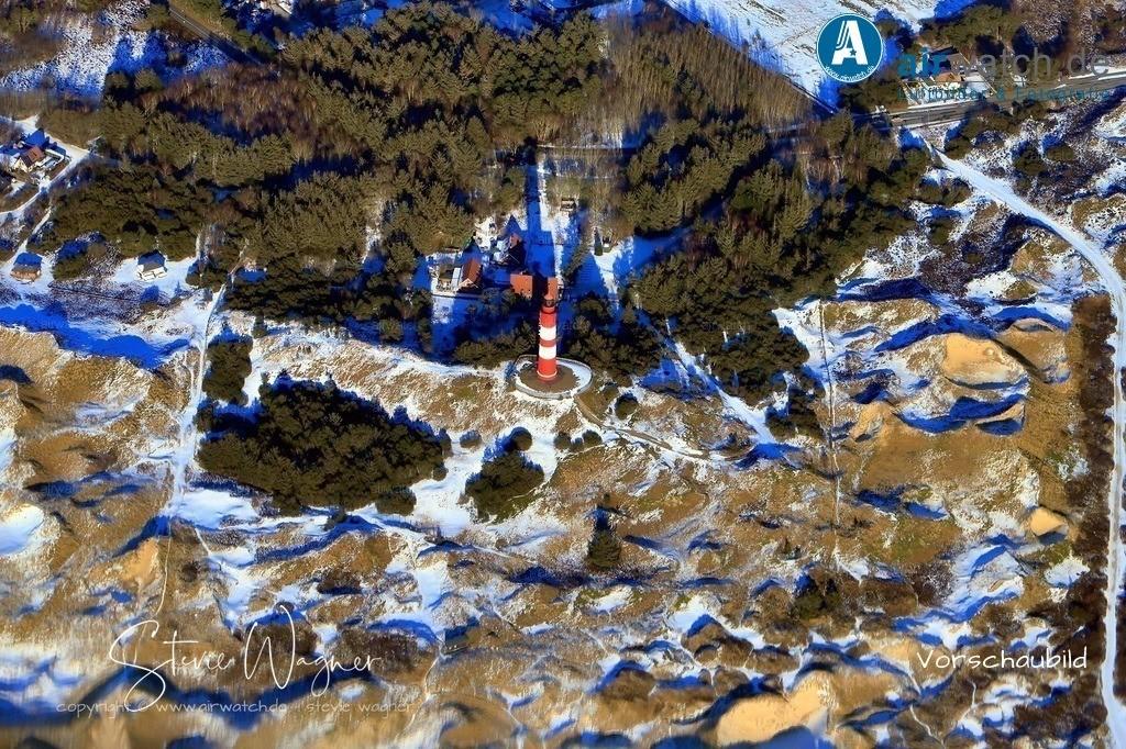 Winter Luftbilder, Nordsee, Nordfriesland, Amrum, Kniepsand, Südstrand, Wittdün, Winter, Leuchtturm | Winter Luftbilder, Nordsee, Nordfriesland, Amrum, Kniepsand, Südstrand, Wittdün, Winter, Leuchtturm
