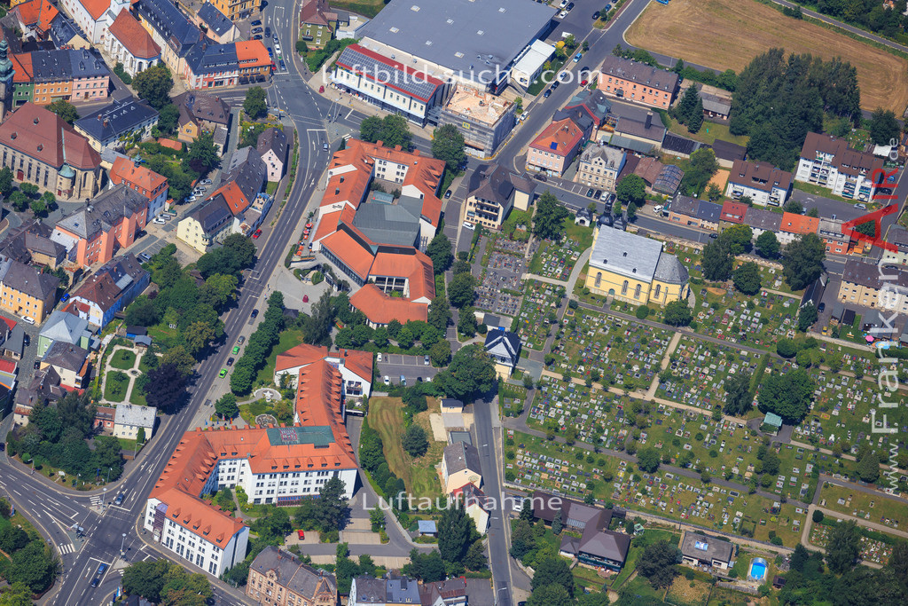 wunsiedel-2014-106 | Luftbild von  Wunsiedel - Luftaufnahme wurde 2014 von https://frankenair.de mittels Flugzeug (keine Drohne) erstellt - die Geschenkidee