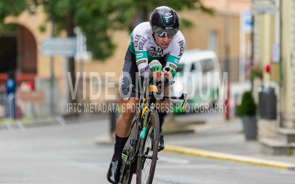 81st Skoda-Tour de Luxembourg 2021   81st Skoda-Tour de Luxembourg 2021, Stage 4 ITT Dudelange - Dudelange; Dudelange, 17.09.2021: LASTRA Jonathan (Caja Rural - Seguros RGA, 124)