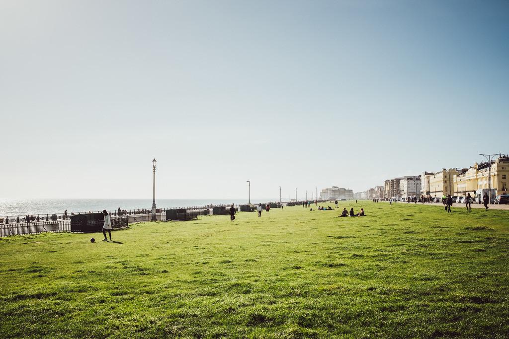 Brighton | Park nahe Brighton Beach, Brighton, England