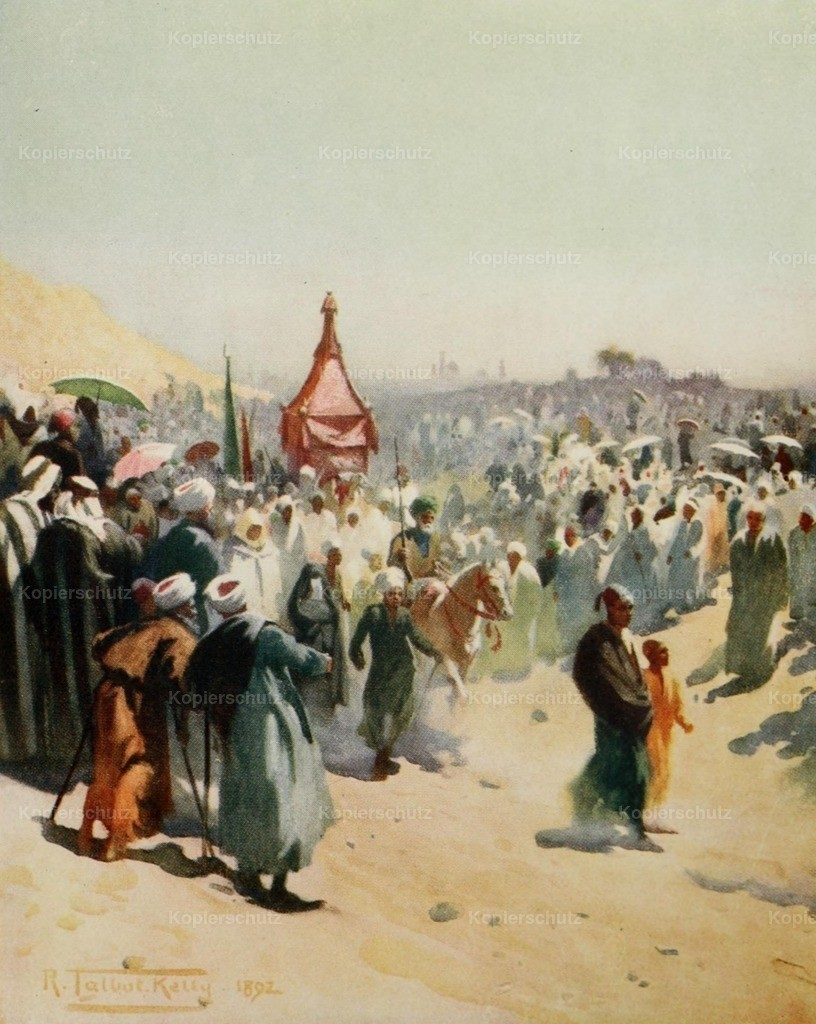 Kelly_ Robert Talbot (1861-1934) - Egypt 1903 - Return of the Mahmal