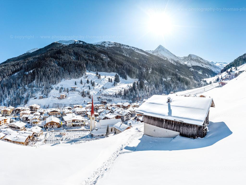 Lanersbach im Winter-2