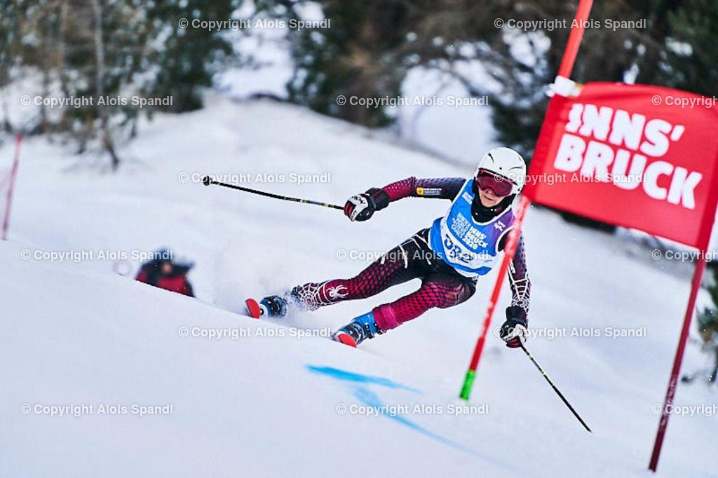 ALS5592_WWMG_GS-II_C | (C) FotoLois.com, Alois Spandl, WinterWorldMastersGames 2020 Innsbruck, Giant Slalom-II Gruppe C Damen, Patscherkofel Olympiaabfahrt, Mi 15. Jänner 2020.