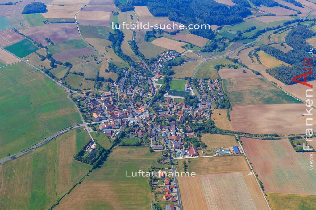 gutenstetten-2016-5671   Luftbild von  Gutenstetten - Luftaufnahme wurde 2016 von https://frankenair.de mittels Flugzeug (keine Drohne) erstellt - die Geschenkidee