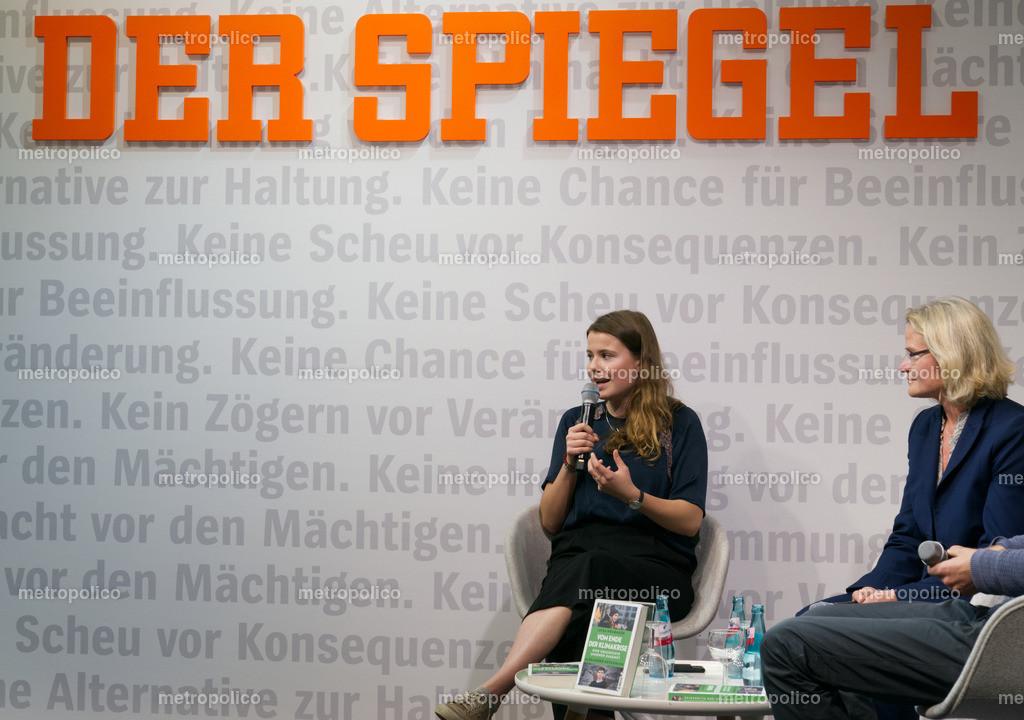 Luisa Neubauer und DER SPIEGEL (3)