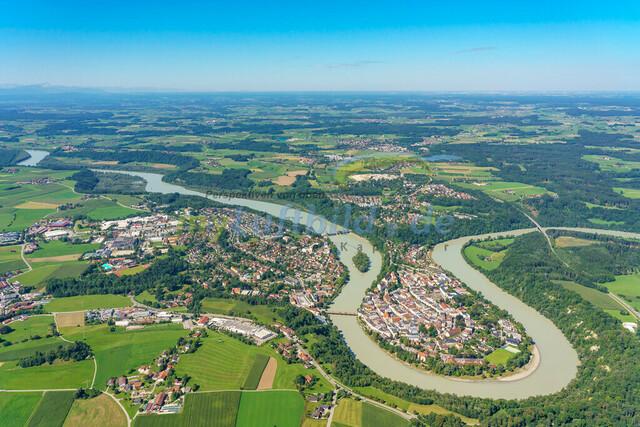 luftbild-wasserburg am inn-bruno-kapeller-03   Luftaufnahme von Wasserburg am Inn im Sommer 2019