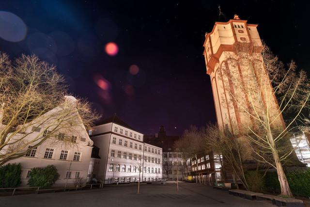 Wasserturm Straubing und Realschule