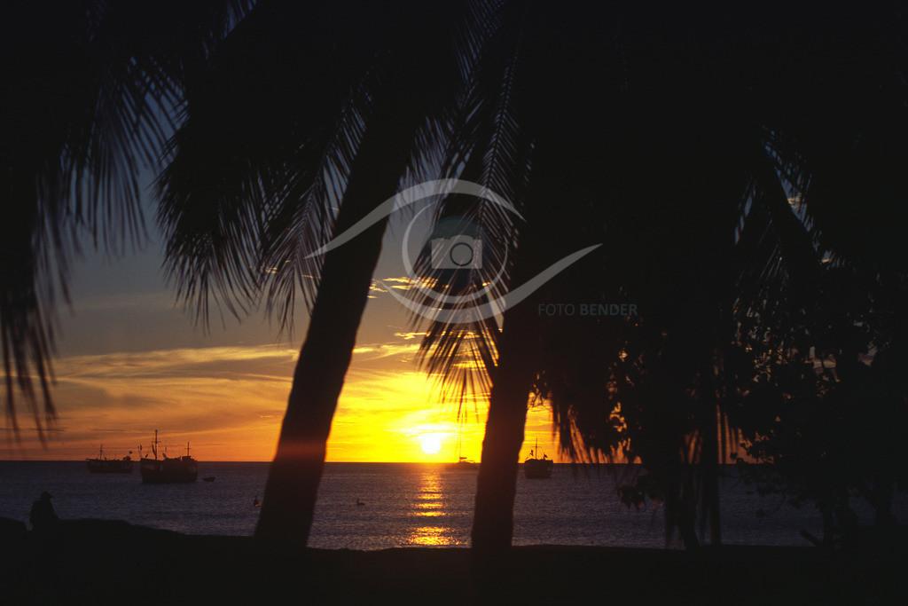 Venezuela_ Isla Margarita-Sonnenuntergang_01