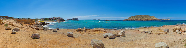Ibiza Cala Comte Panorama