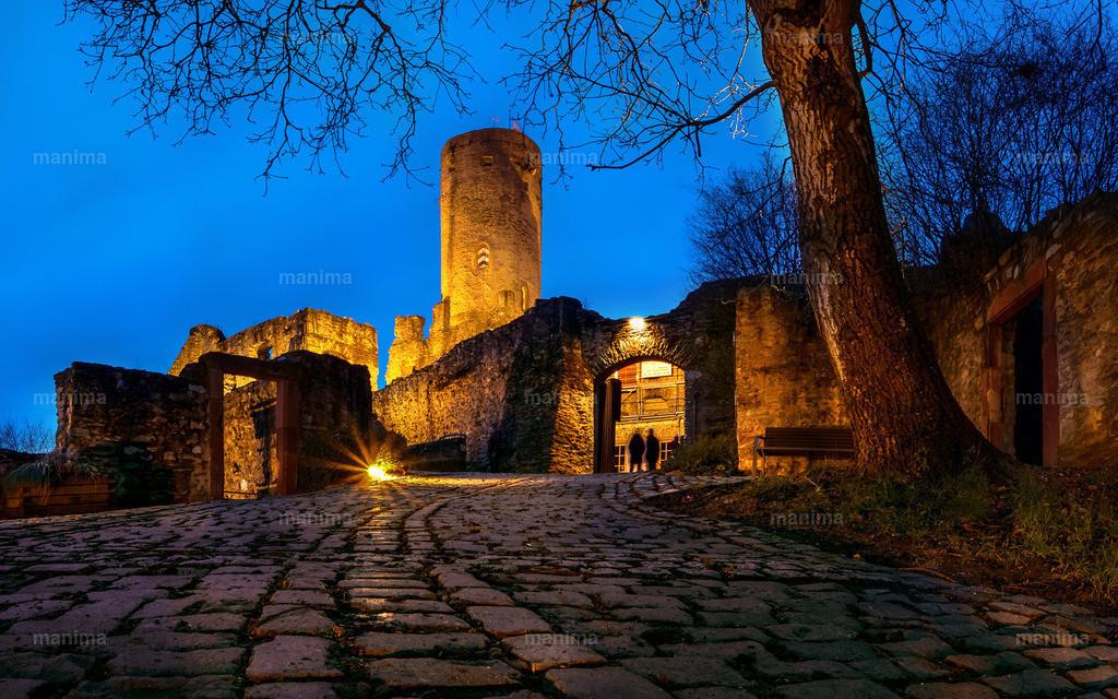 Burg Eppstein  | Nacht Bild
