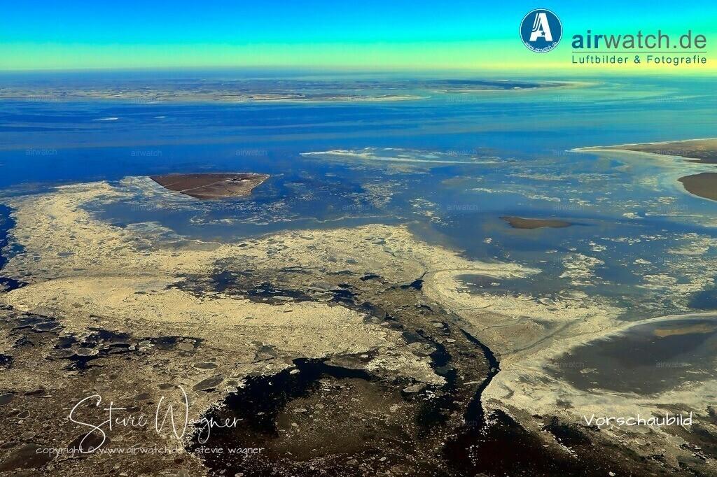 Winter Luftbilder, Nordsee, Nordfriesland, Hallig Süderoog | Winter Luftbilder, Nordsee, Nordfriesland, Hallig Süderoog