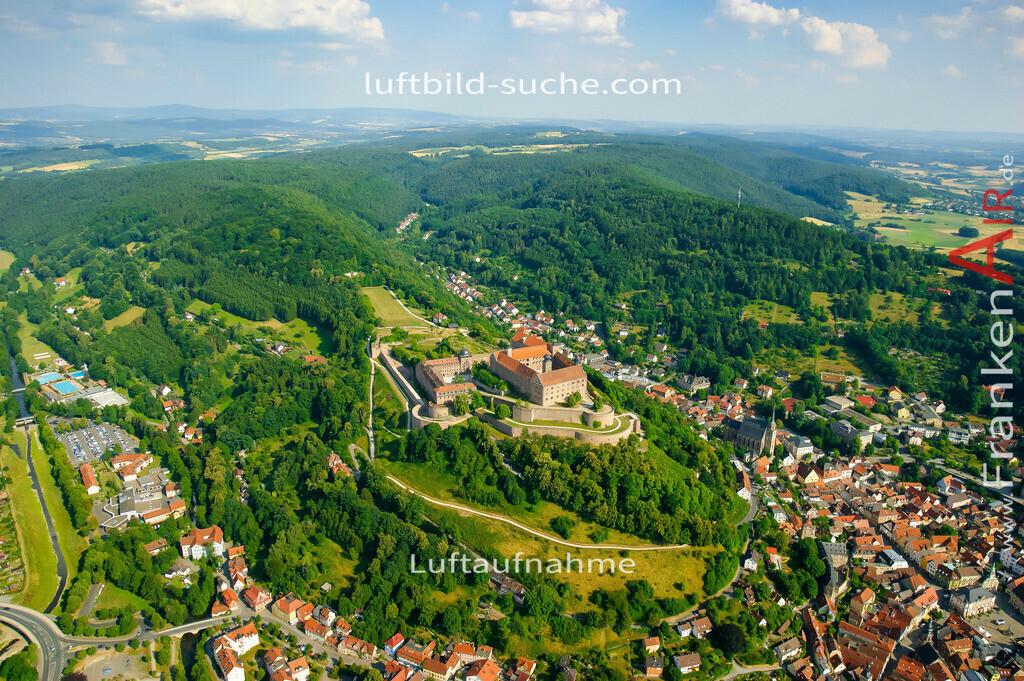 plassenburg-kulmbach-2008-03 | Luftbild von Plassenburg Kulmbach - Luftaufnahme wurde 2008 von https://frankenair.de mittels Flugzeug (keine Drohne) erstellt - die Geschenkidee