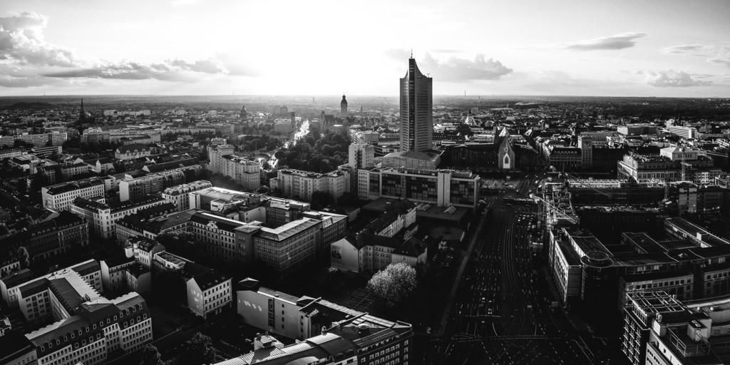 Leipzig Schwarz weiß (4)