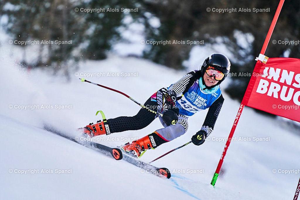 ALS5863_WWMG_GS-II_C   (C) FotoLois.com, Alois Spandl, WinterWorldMastersGames 2020 Innsbruck, Giant Slalom-II Gruppe C Damen, Patscherkofel Olympiaabfahrt, Mi 15. Jänner 2020.