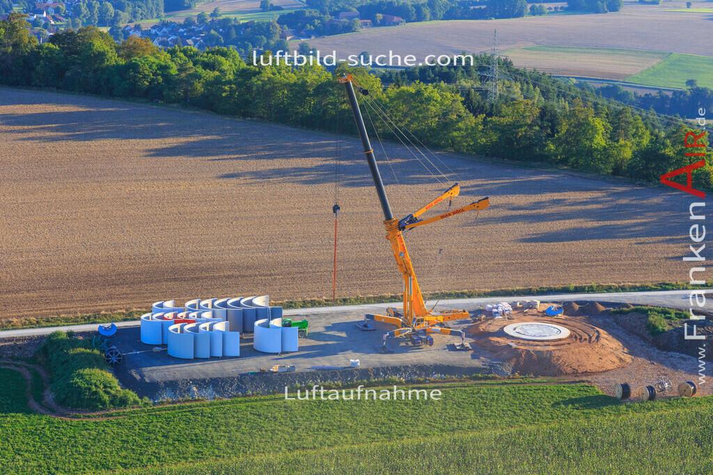 windpark--2016-223   Luftbild von Windpark Kulmbach - Luftaufnahme wurde 2016 von https://frankenair.de mittels Flugzeug (keine Drohne) erstellt - die Geschenkidee