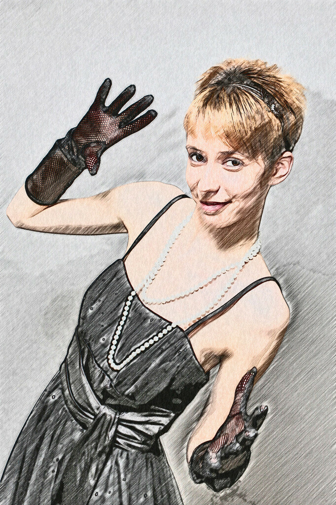 Handschuh Lady Bild 017