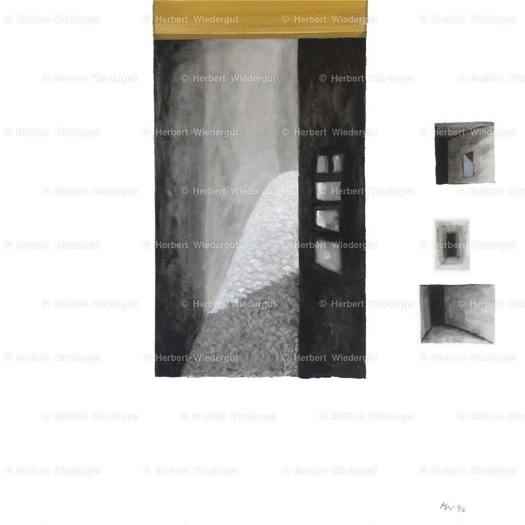 verborgenes Licht | Ölgemälde von Dr. Herbert Wiedergut