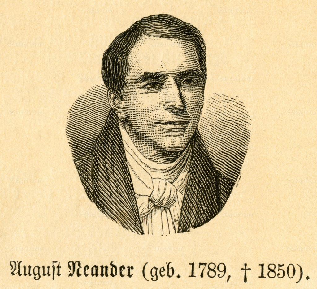 August Neander / August Neander | Europa, Deutschland, Niedersachsen , Göttingen,  August Neander, Motiv aus :