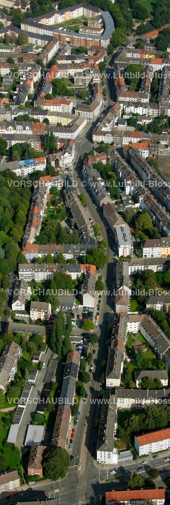 ES10094250a | Frohnhauseer Strasse, Luftbild,  , Ruhrgebiet, , , Europa, Foto: hans@blossey.eu, 05.09.2010