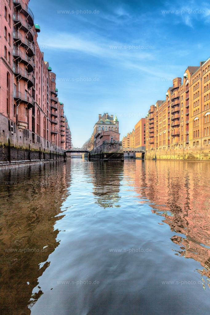 Wasserschlösschen Hamburg | In der Hamburger Speicherstadt