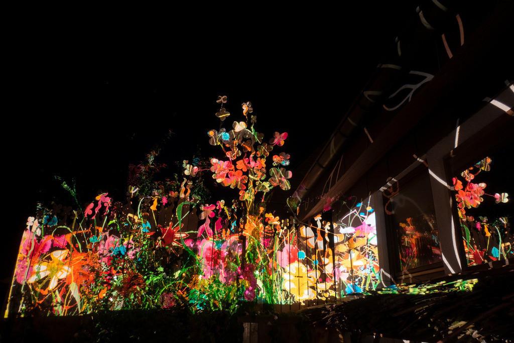Bunter Abend 19 | Den Garten in ein Märchen verwandeln.Es bedarf nur  viele meiner Bilder, einen Photoapparat, 6 Projektoren, einen Kopf voll Ideen und einen Abend Zeit sie sichtbar zu machen. Diese Motive können sich auch zur Gestaltung von Postkarten, Einladungen oder Sprüchen eignen. - enjoy!