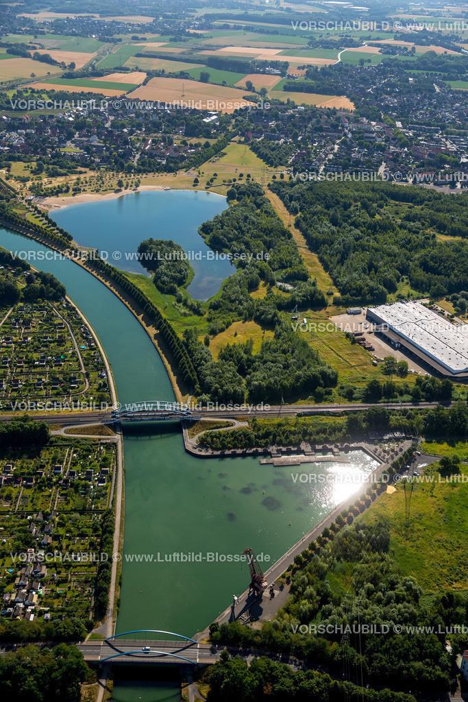 Luenen15071877 | Seepark Lünen mit Kanal und Preußenhafen, Datteln-Hamm-Kanal, Lünen, Ruhrgebiet, Nordrhein-Westfalen, Deutschland