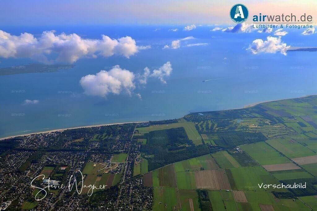 Luftbilder Nordsee, Föhr, Wyk auf Föhr, Am Flugplatz | Nordsee, Föhr, Wyk auf Föhr, Am Flugplatz