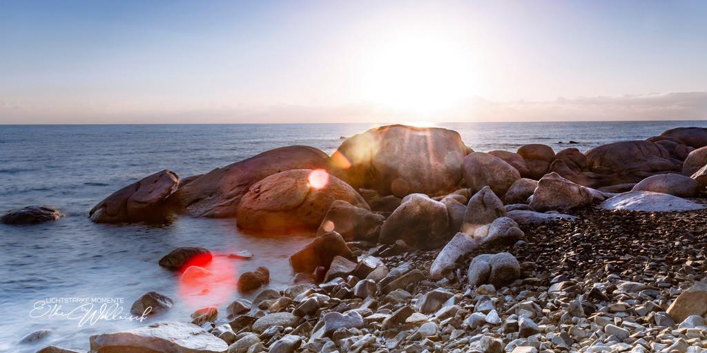 Lensflare   Spiaggia Sant'Elmo / Sant'Elmo Beach
