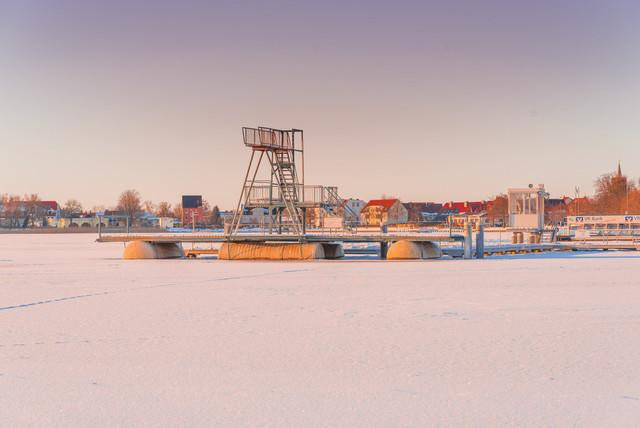 Winter in Prenzlau | Ansicht aus Prenzlau