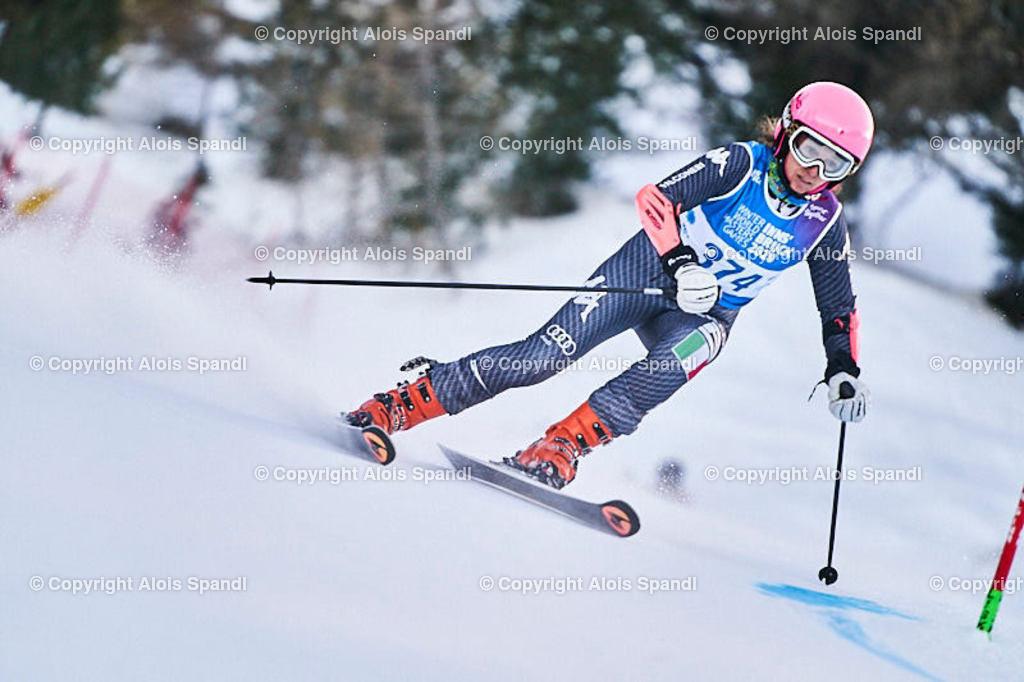 ALS5536_WWMG_GS-II_C   (C) FotoLois.com, Alois Spandl, WinterWorldMastersGames 2020 Innsbruck, Giant Slalom-II Gruppe C Damen, Patscherkofel Olympiaabfahrt, Mi 15. Jänner 2020.