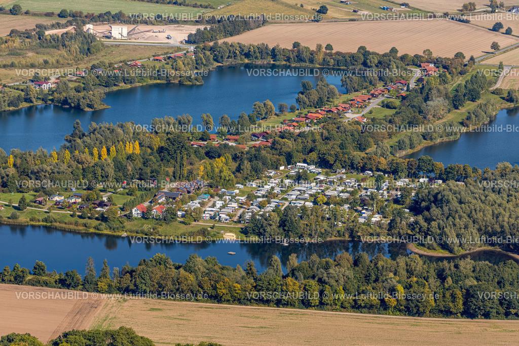 Beverungen200911501Camping_Weser_Axelsee | Luftbild, Fluss Weser, Axelsee, Campingplatz, Würgassen, Beverungen, Ostwestfalen-Lippe, Nordrhein-Westfalen, Deutschland