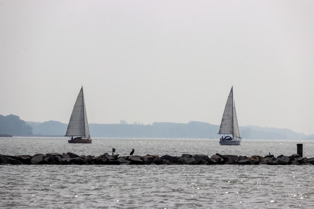 Arnis an der Schlei | Segelboote auf der Schlei