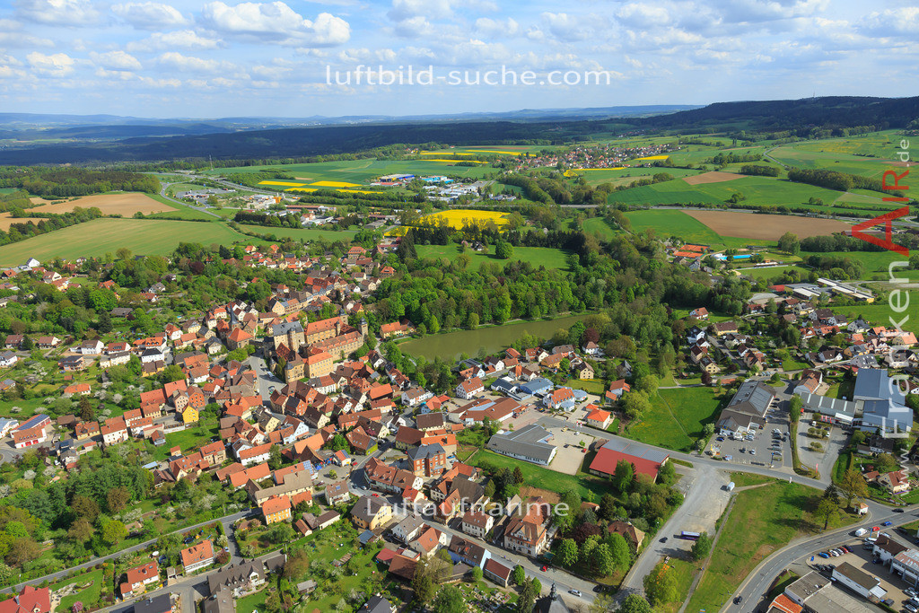 thurnau-2015-148 | Luftbild von  Thurnau - Luftaufnahme wurde 2015 von https://frankenair.de mittels Flugzeug (keine Drohne) erstellt - die Geschenkidee