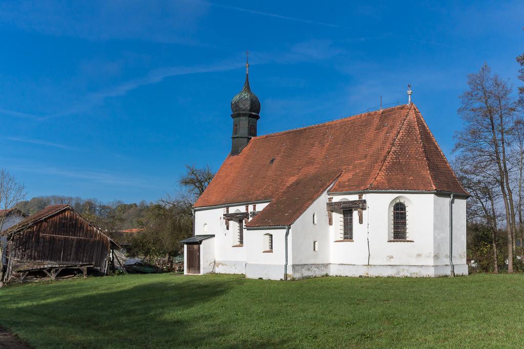 Kleine Kirche in Bayern
