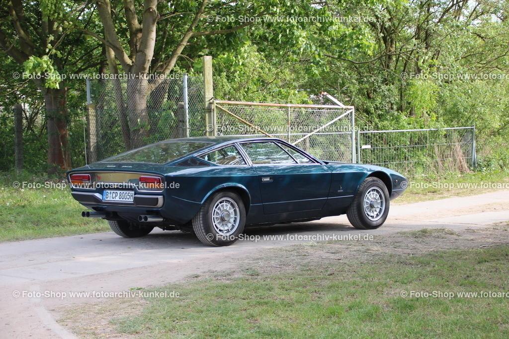 Maserati Khamsin Coupé 2 Türen (Tipo AM120), 1973-82 | Maserati Khamsin Coupé 2 Türen (Bertone), Farbe: Dunkelblau, Bauzeit: 1973-82, Tipo AM120, Italien