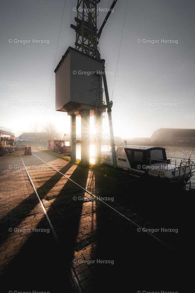Sonnenaufgang am Hafen | Münster