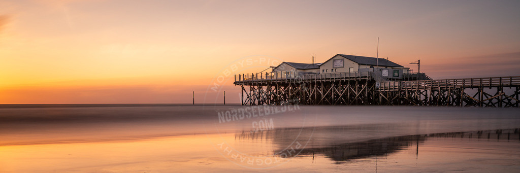 mobbys-pics.com_MGB3355 | Sonnenuntergang in st. Peter-Ording