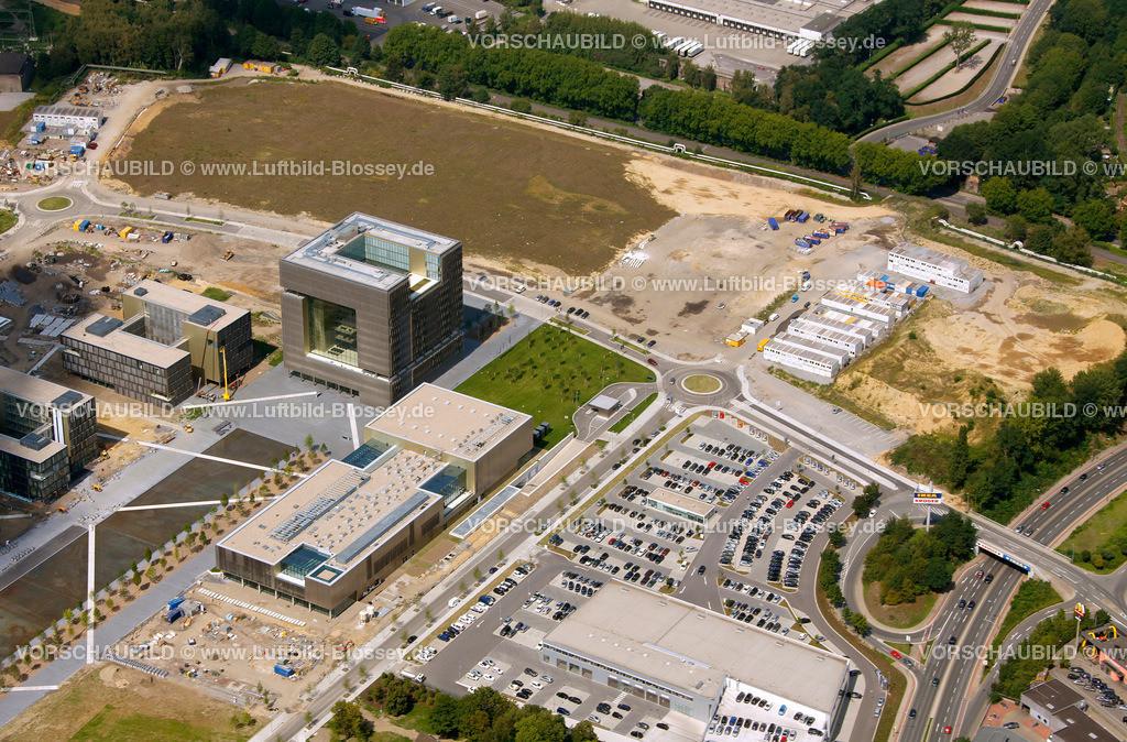 ES10080366 | ThyssenKrupp ThyssenKrupp-Quartier, ,  Essen, Ruhrgebiet, Nordrhein-Westfalen, Germany, Europa, Foto: hans@blossey.eu, 14.08.2010